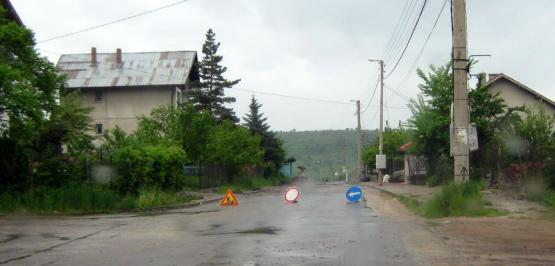 Кърпене на дупките на улица Цар Самуил, Кладница