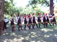 Танцовия състав на фестивал в Средец